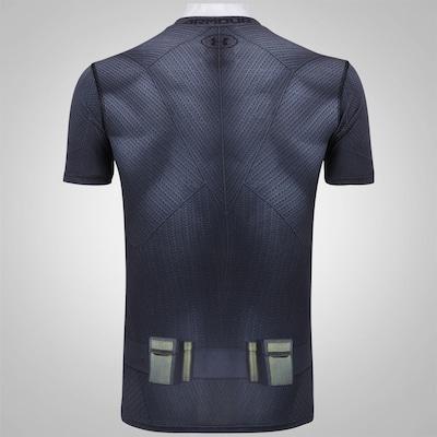 Camiseta de Compressão Under Armour Batman - Masculina