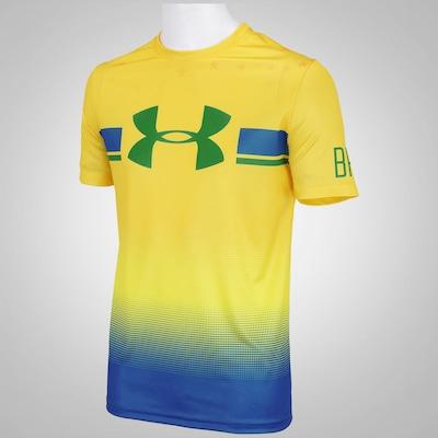 Camiseta Under Armour Tech Brasil - Masculina