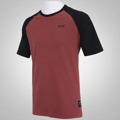 Camiseta Raglan Vibe Skate Now Forever - Masculina