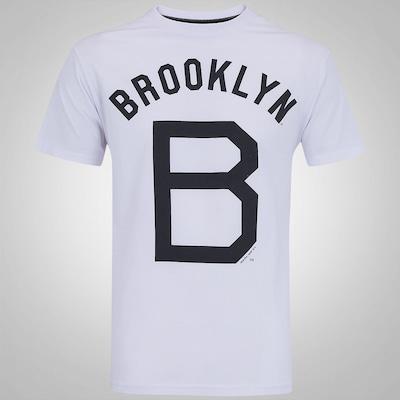 Camiseta New Era Brooklyn Dodgers Vintage - Masculina