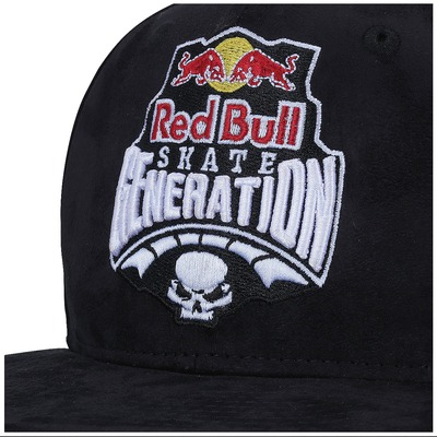 Boné Aba Reta New Era 9FIFTY Red Bull Skate Generation - Snapback - Trucker - Adulto
