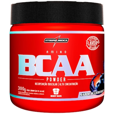 BCAA Integralmédica BCAA Powder - Blueberry - 300g
