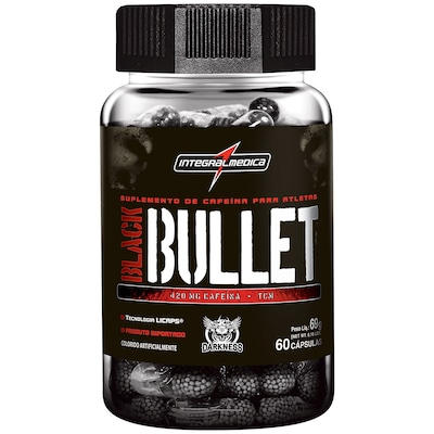 Termogênico Integralmédica Black Bullets - 60 Cápsulas