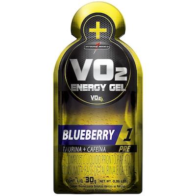 Pré-Treino Integralmedica VO2 Energy Gel - Blueberry - 10 Unidades - 300g