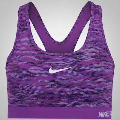 Top Fitness com Bojo Nike Classic - Feminino