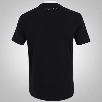 Camiseta Rusty Silk R. Dot Stripe - Masculina