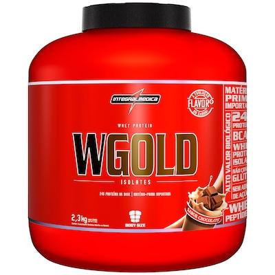 Whey Protein Integralmédica WGold - Sabor Chocolate - 2,3 Kg