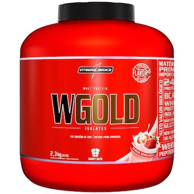 Whey Protein Integralmédica WGold - Sabor Morango - 2,3 Kg