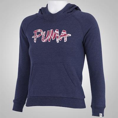 Blusão com Capuz Puma Fun TD Hoodie Terry - Infantil