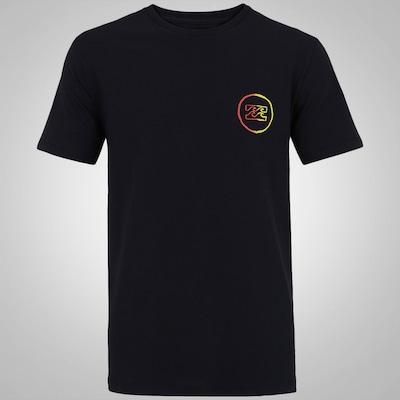Camiseta Billabong Creed Fader - Masculina