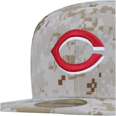Boné Aba Reta  New Era Cincinnati Reds MLB - Fechado - Adulto