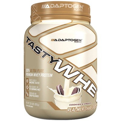 Whey Protein Adaptogen Science Tasty Whey - Cookies e Creme - 912g