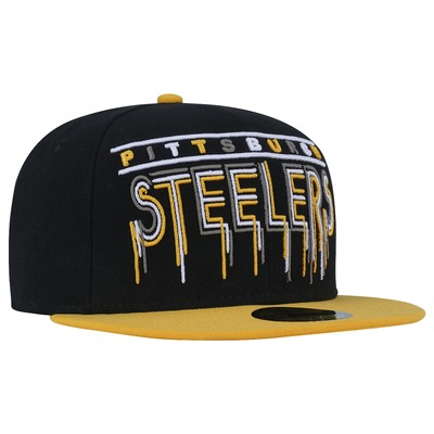 Boné Aba Reta New Era Pittsburgh Steelers NFL - Fechado - Adulto