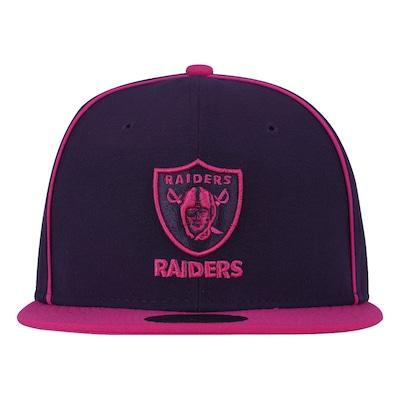 Boné Aba Reta New Era Oakland Raiders NFL - Fechado - Adulto