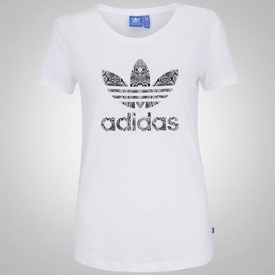 Camiseta adidas Originals Trefoil - Feminina