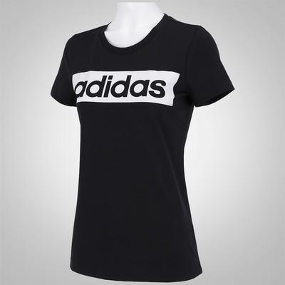 Camiseta adidas Essentials Linear SS16  - Feminina