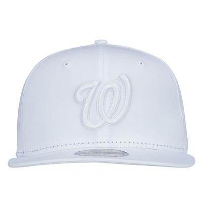 Boné Aba Reta New Era 59FIFTY Washington Nationals MLB White - Fechado - Adulto