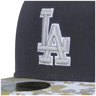 Boné Aba Reta New Era 59FIFTY Los Angeles Dodgers MLB - Fechado - Adulto
