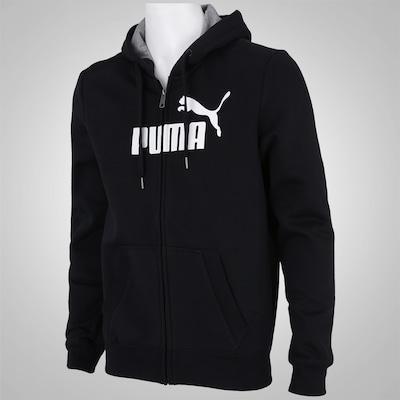 Jaqueta com Capuz Puma Ess Logo Hooded FL - Masculina