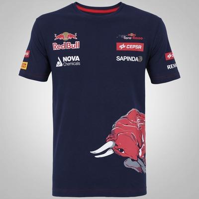 Camiseta Red Bull Scuderia Toro Rosso Team Wear - Masculina