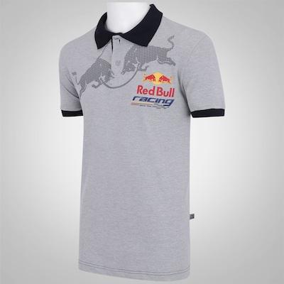 Camisa Polo Red Bull RBR Racing SC Bulls Logo - Masculina