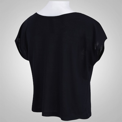 Blusa Crooped Oxer Printed Stronger - Feminina