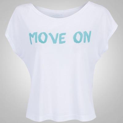 Blusa Cropped Oxer Move On - Feminina