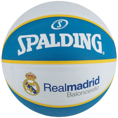 Bola de Basquete Spalding EuroLeague Real Madrid
