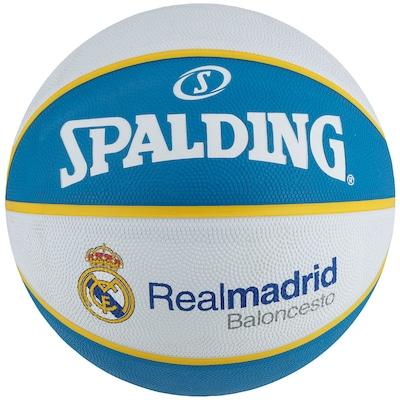 Bola de Basquete Spalding EuroLeague Real Madrid