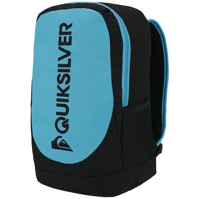 Mochila Quiksilver Locker Black Neon