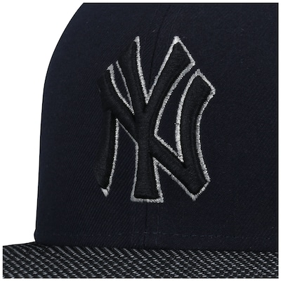 Boné Aba Reta New Era 59FIFTY New York Yankees MLB Dark Blue - Fechado - Adulto