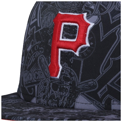 Boné Aba Reta  New Era Pittsburgh Pirates MLB - Fechado - Adulto
