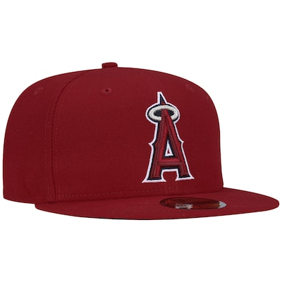 Boné Aba Reta New Era Los Angeles Angels of Anaheim -  Fechado - Adulto