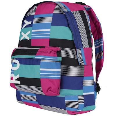 Mochila Roxy Sugar Baby Stripes and Blue