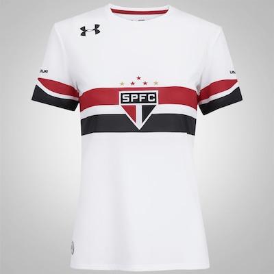 Camisa do São Paulo I 2016 Under Armour - Feminina