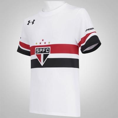 Camisa do São Paulo I 2016 Under Armour - Infantil