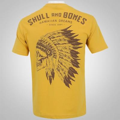 Camiseta HD Apache Skull - Masculina