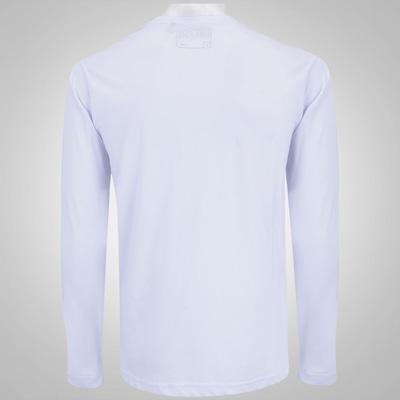 Camiseta Manga Longa HD Watercolor Wave - Masculina