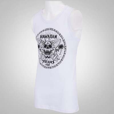 Camiseta Regata HD Hawaiian Bones - Masculina