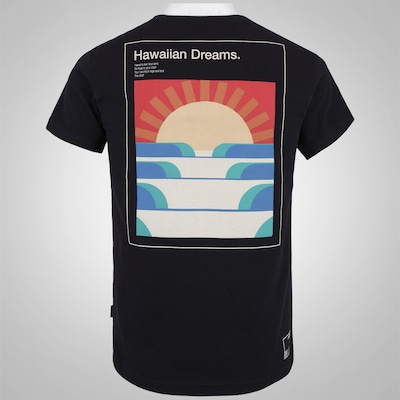 Camiseta HD Slim Sunset Lines - Masculina