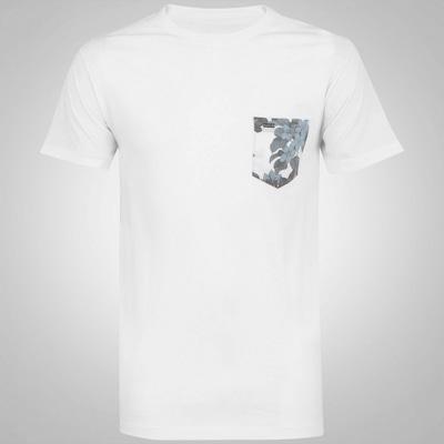 Camiseta Hurley Floral Pocket - Masculina