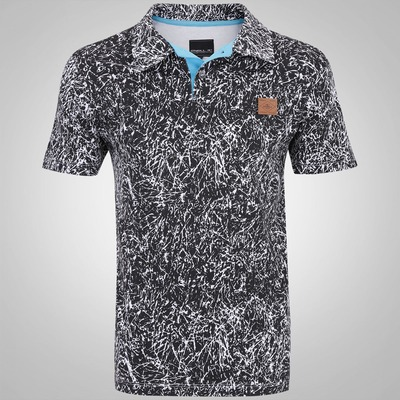 Camisa Polo O'Neill Ginga Branches 1938 - Masculina