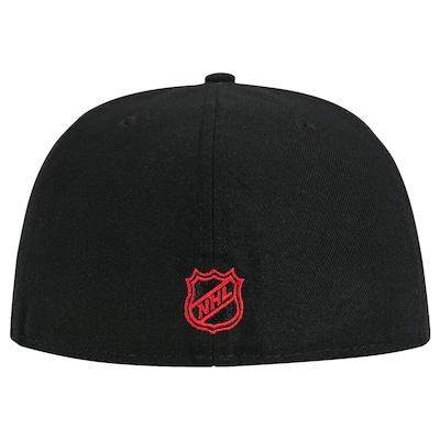 Boné Aba Reta New Era 59FIFTY Chicago Blackhawks NHL - Fechado - Adulto