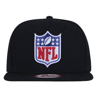 Boné Aba Reta New Era 9FIFTY NFL Shild Black- Snapback - Adulto