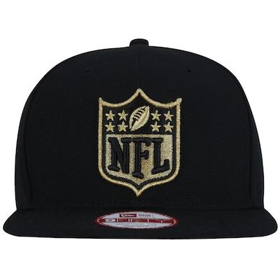 Boné Aba Reta New Era 9FIFTY NFL Shild Gold/Black - Snapback - Adulto