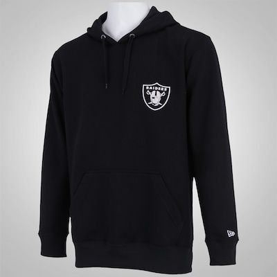 Blusão de Moletom com Capuz New Era Oakland Raiders NFL Team - Masculino
