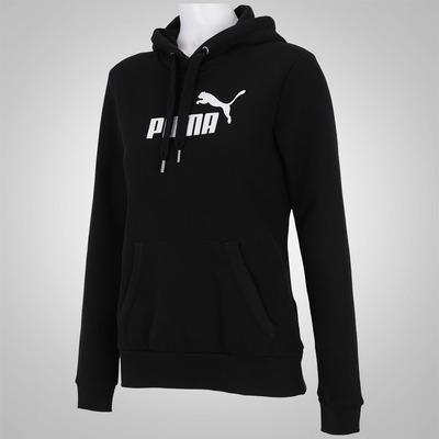 Blusão com Capuz Puma Ess Large Logo Hoodie FL - Feminino