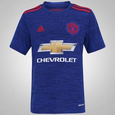 Camisa Manchester United II 16/17 adidas - Infantil
