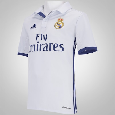 Camisa Real Madrid I 16/17 adidas - Infantil