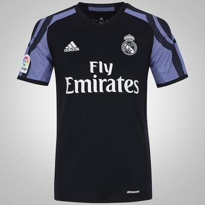 Camisa Real Madrid III 16/17 adidas - Masculina